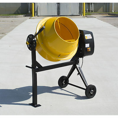 Pro-Series CME35 4 Cubic Foot Electric Cement Mixer - 180 lb Dry Mix Capacity