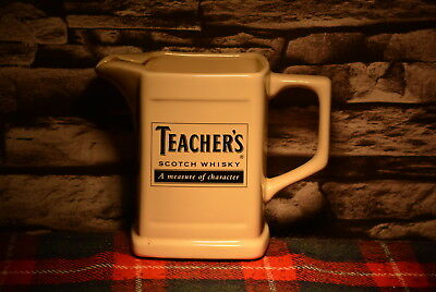 Teacher`s A Measure Of Charakter Scotch Whisky Water Jug Wasser Krug #c0204
