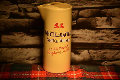 Whyte & Mackay Matured Twice Scotch Whisky Water Jug Wasser Krug #c0198