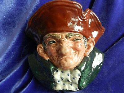 Royal Doulton Figurine ~ Old Charley ~ Wall Sconce  ~ Extremely Rare
