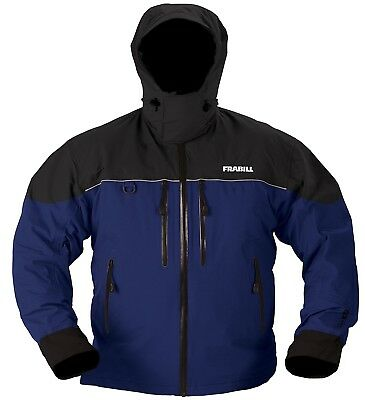 (X-Large, Blue) - Frabill F 11.4l Rainsuit Jacket. Delivery is Free