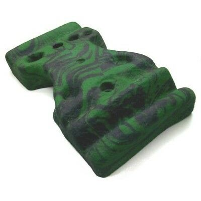 (green-mottled) - TOP Training Board with Provision for Screwing on a Climbing