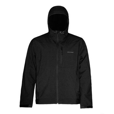 (Large, Black) - Grundens Gauge Midway Softshell Jacket. Delivery is Free