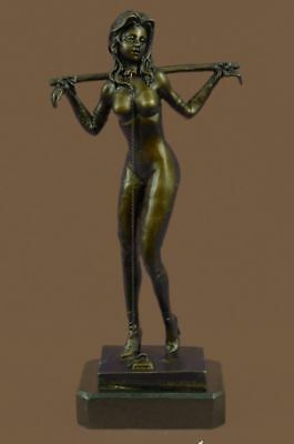 Museum Quality Rare Bronze Sculpture Statue Figurine Figure Exotic Reproduct