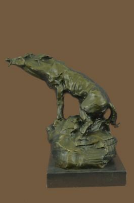 Large Abstract Moder Bronze Sculpture Statue Figurine Figure Art Horse Gall
