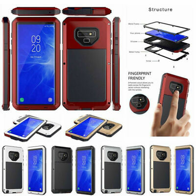 Waterproof Shockproof Aluminum Gorilla Metal Cover Case For Samsung Galaxy S5
