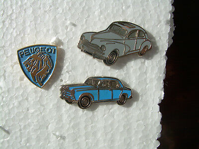 Rare LOT pin's automobile voiture LOGO CARS FRANCE FRENCH PEUGEOT 403  203 RETRO