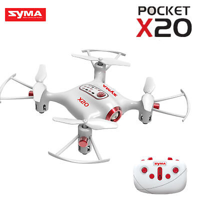 SYMA X20 Pocket Drone 2.4G 4CH 6Aixs Altitude Hold Mode One Key Tak-off/Landing
