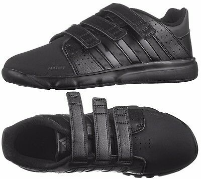 Adidas BTS Boys Kids Black School Shoes Trainers Adituff Upper UK5 New Boxed
