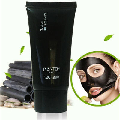Pilaten Charcoal Blackhead Remover Peel Off Mask Face Care Black Mud Cleansing