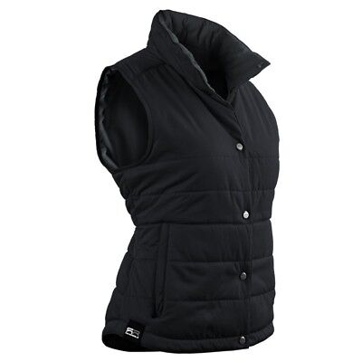 Sun Mountain Alpine Golf Vest 2016 Ladies Black/Steel Small. Free Shipping