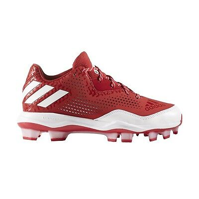 (11 B(M) US, Power Red/White/White) - adidas Performance Women's Poweralley 4