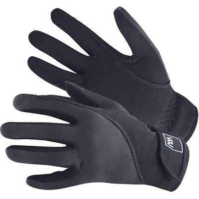 (Size 9.5, Black) - Woof Wear Precision Riding Glove. Shipping Included