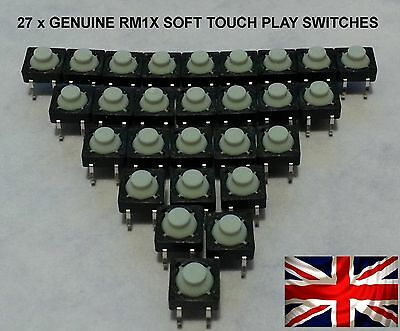 Yamaha RM1x  KEYBOARD GENUINE SWITCH REPAIR KIT- PLAY BUTTON KIT x 30 VS180900