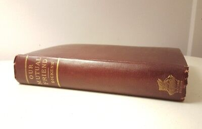 Charles Dickens Our Mutual Friend Antique Rare Book 1865 Lovell NYC Published