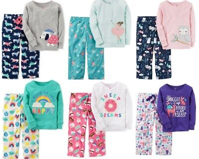 Carters Girls Pajamas New