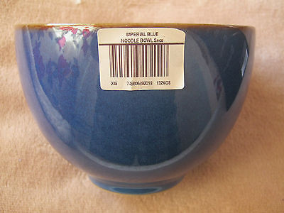 New Denby Imperial Blue Noodle Bowl