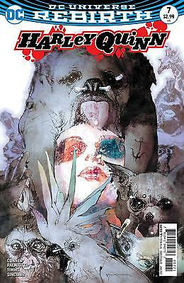 Harley Quinn #7 - First Print - Variant Cover - New - DC Rebirth