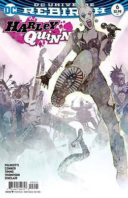Harley Quinn #6 - First Print - Variant Cover - New - DC Rebirth