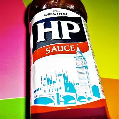 HP Original Brown Sauce 450g Squeezy Topdown English Breakfast Grill €0.89/100g