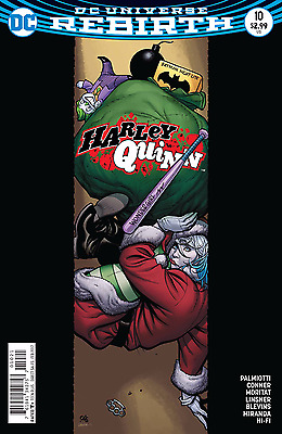 Harley Quinn #10 - First Print - Variant Cover - New - DC Rebirth - Poison Ivy