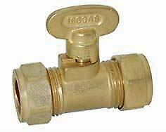 10mm Gas Isolating Valve - PACK OF 5