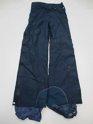 THE NORTH FACE #PA6035 Women's Size M Gore-Tex Nylon Navy Blue Snow Ski Pants