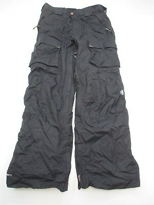 NIKE ACG #PA6030 Men's Size M Fit Storm Outer Layer Warm Black Snow Ski Pants