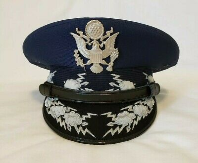 USAF Chief of Staff Airforce General Officers Parade Dress Visor Hat Cap