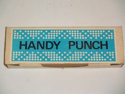 Knitting Machine Accessory: Handy Punch For Punching Your Own Punch Cards
