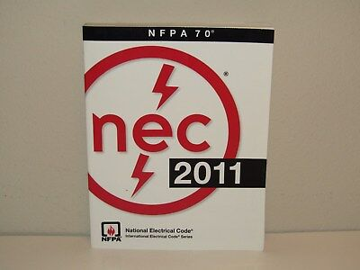National Electrical Code Book 2011, Nice Condition