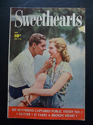 Golden Age Comic, Sweethearts, #118, 1952, Photo Cover, Marilyn Monroe In Comic!