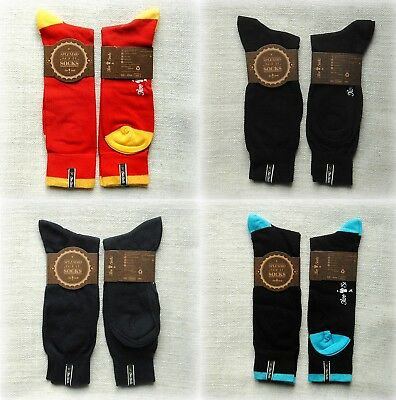 "NEW LUXURY UNISEX Socks from ""Two Socks""  Medium and Large sizes"