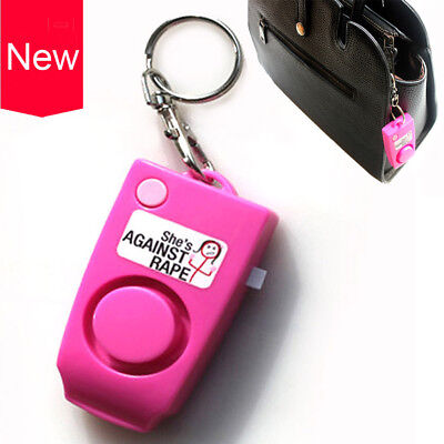 Anti-rape Device Alarm Alert Attack Keychain Safety Personal Security Protection