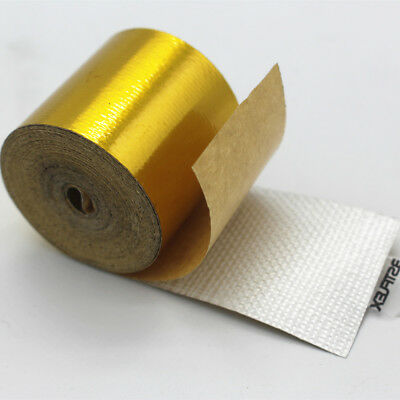 Reflect Gold Tape High Performance Heat Protection Roll Tape 50mm x 5m NEW