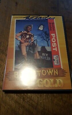 2005 Boomtown Gold DVD RARE Limited Edition Signed by REX TRAILER Boston Post