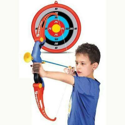 Toy Archery Bow And Arrow Set for Kids With Arrows, Target, and Quiver