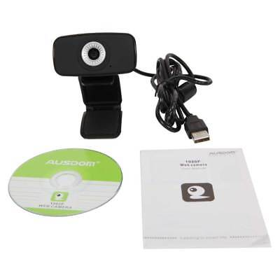 AUSDOM AW310 720P HD 33fps Webcam Computer PC Web Camera Skype for Laptops PC UK