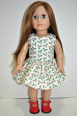 18 Inch Doll Friend for American Girl Our Generation Journey Doll Dress Shoes