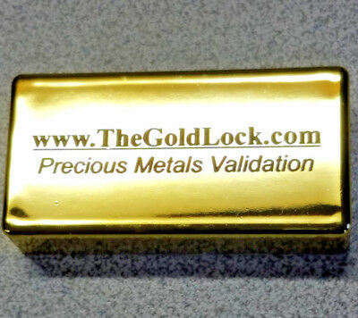 Gold Lock  Activator - Use with Scanner to See Tungsten Inside of Gold & Silver