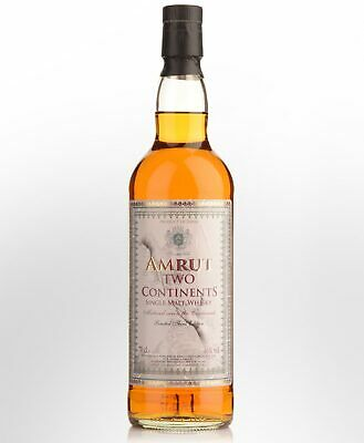 Amrut Two Continents Single Malt Indian Whisky (700ml)