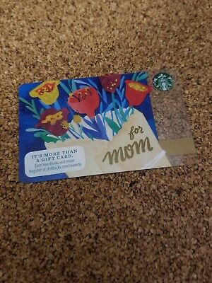 Starbucks Card 2015 For Mom New Pin Intact