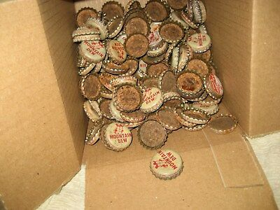 Large Lot of Old Pepsi, Vess, and Mountain Dew Hillbilly Bottle Caps