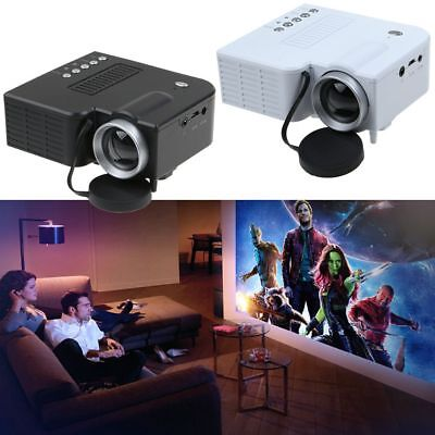 UC28A Proyector Led Mini HD 1080p Home Cinema HDMI USB AV VGA SD  LCD multimedia