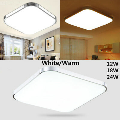 Modern LED Square Ceiling Down Light Bedroom Living Room Lamp Surface Mount New