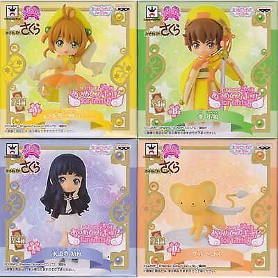 Card Captor Sakura gathered figures for Girls2 in all four sets