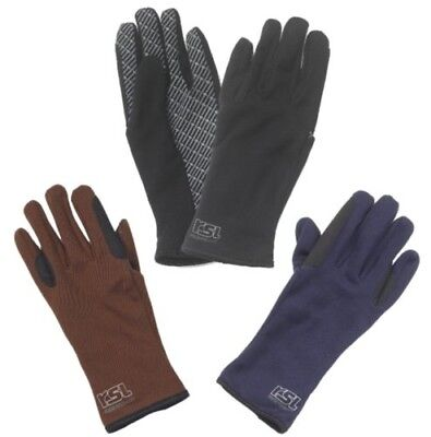 (Large - 8, Black) - RSL Allrounder Riding Glove. Free Delivery