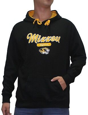 (M, Black) - NCAA Youth MISSOURI TIGERS Athletic Pullover Hoodie / Sweatshirt