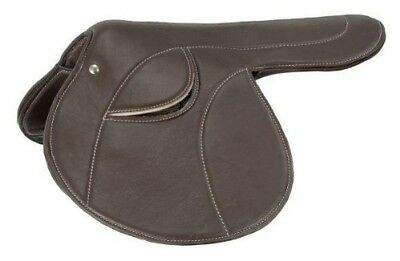 (Brown) - Silver Fox Softback Exercise Saddle. Free Delivery