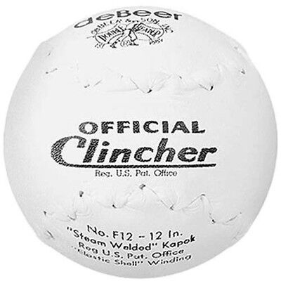 Worth deBeer Official F12 Clincher 30cm Softball - (1 Dozen). Huge Saving